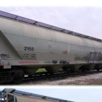 5125 cubic foot, 286,000 lb – Pressure Differential Covered Hoppers for Lease