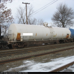 25,000 Gallon Tank Car Coiled and Insulated